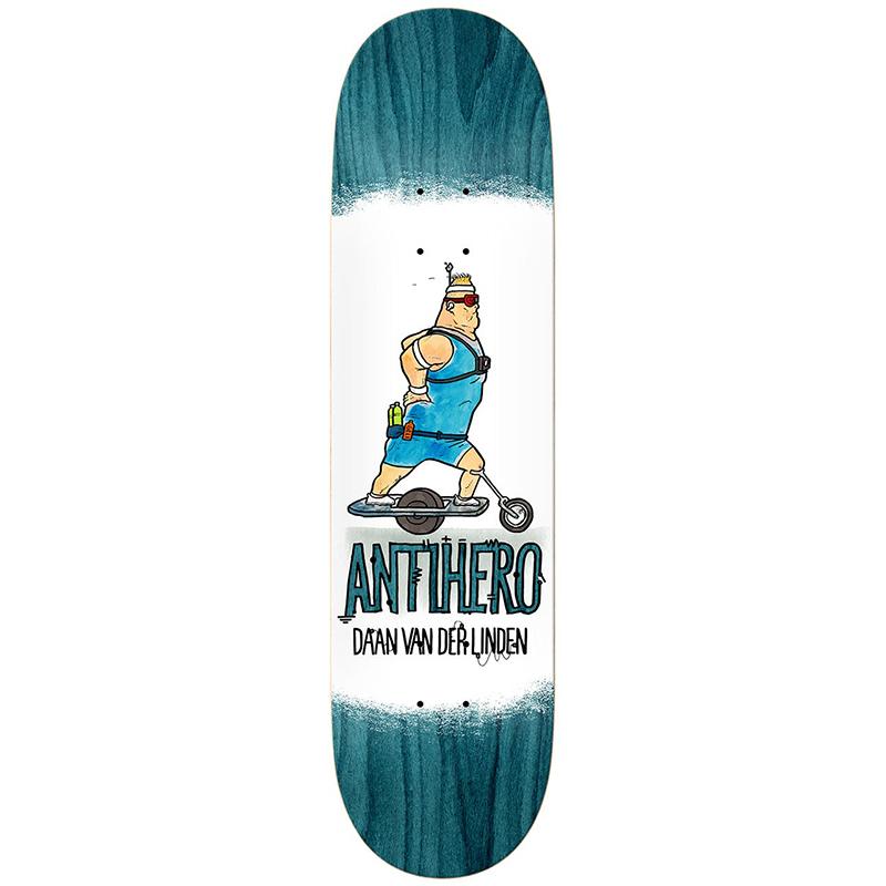 Anti Hero Daan Electric Luxuries Skateboard Deck 8.38