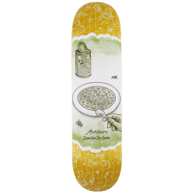 Anti Hero Daan It's A Sign Skateboard Deck Assorted Veneer 8.25