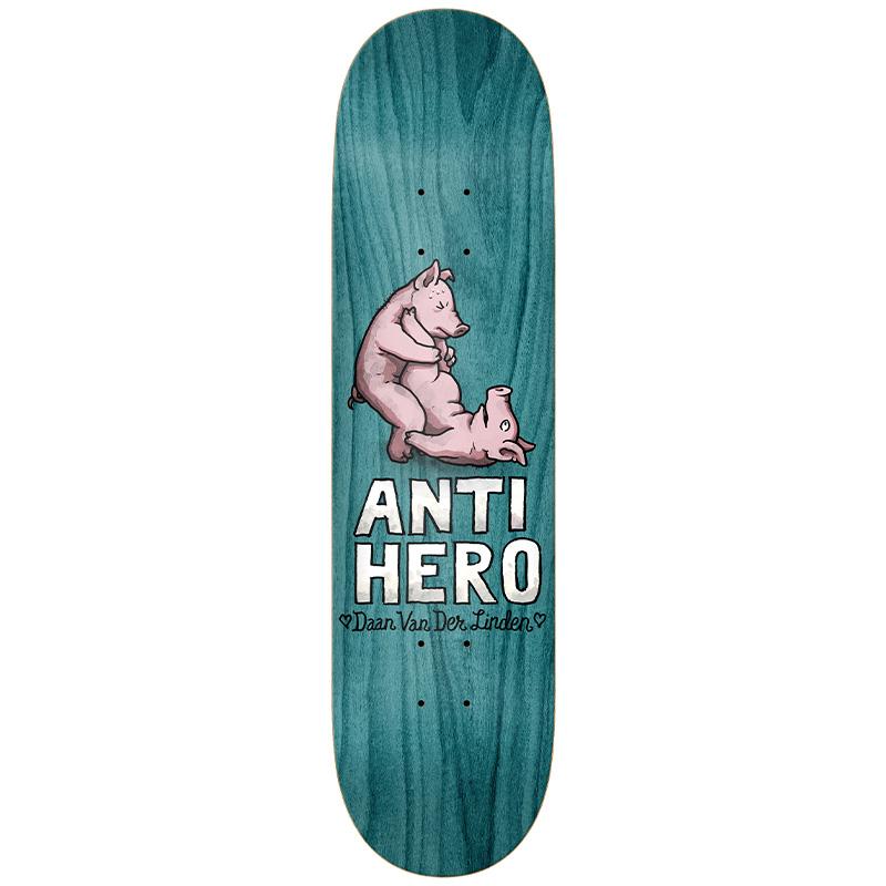 Anti Hero Daan Lovers II Skateboard Deck 8.06