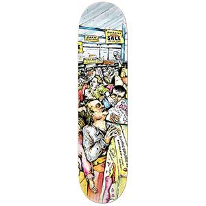 Anti Hero Daan Mall Grab Skateboard Deck 8.12
