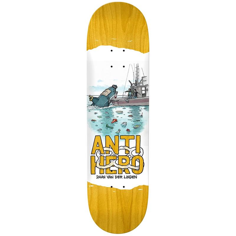 Anti Hero Daan Plastics Skateboard Deck 8.18
