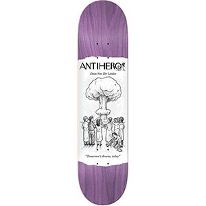 Anti Hero Daan Sci-Fi Achv Skateboard Deck 8.38