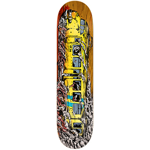 Anti Hero Daan Trainwreck Skateboard Deck 8.4