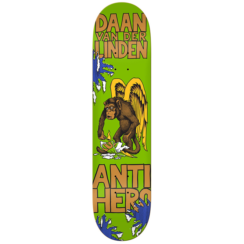 Anti Hero Daan van der Linden First V1 Skateboard Deck 8.06