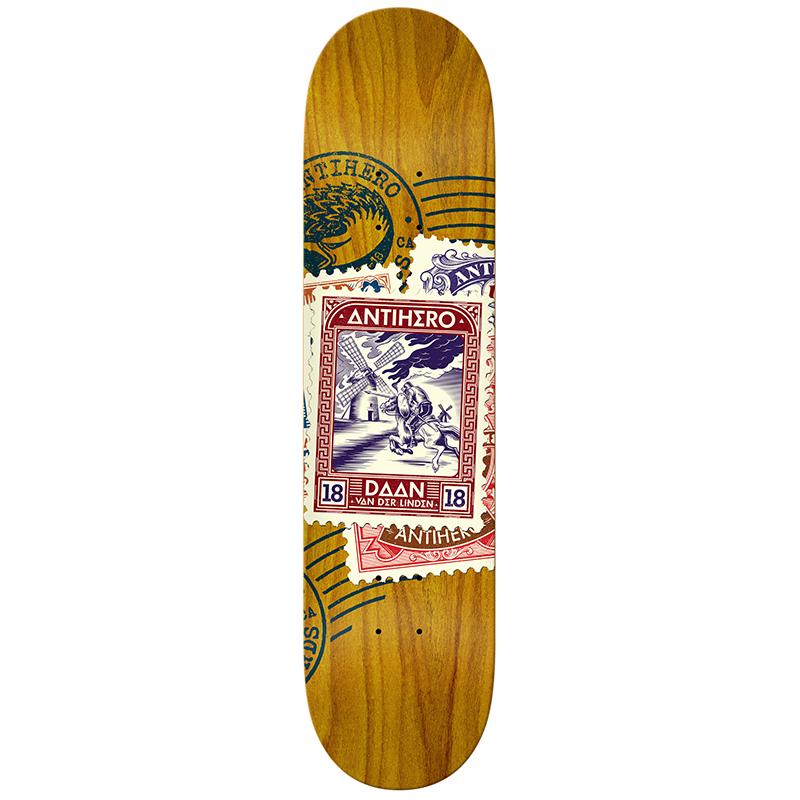 Anti Hero Daan van der Linden Return To Sender Skateboard Deck 8.18