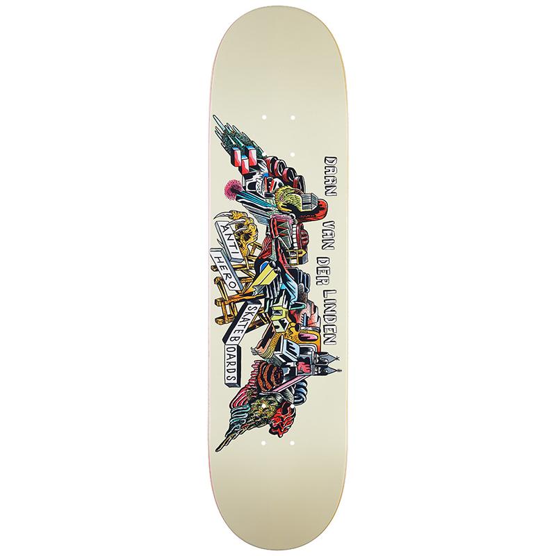 Anti Hero Daan We Fly Skateboard Deck 8.06