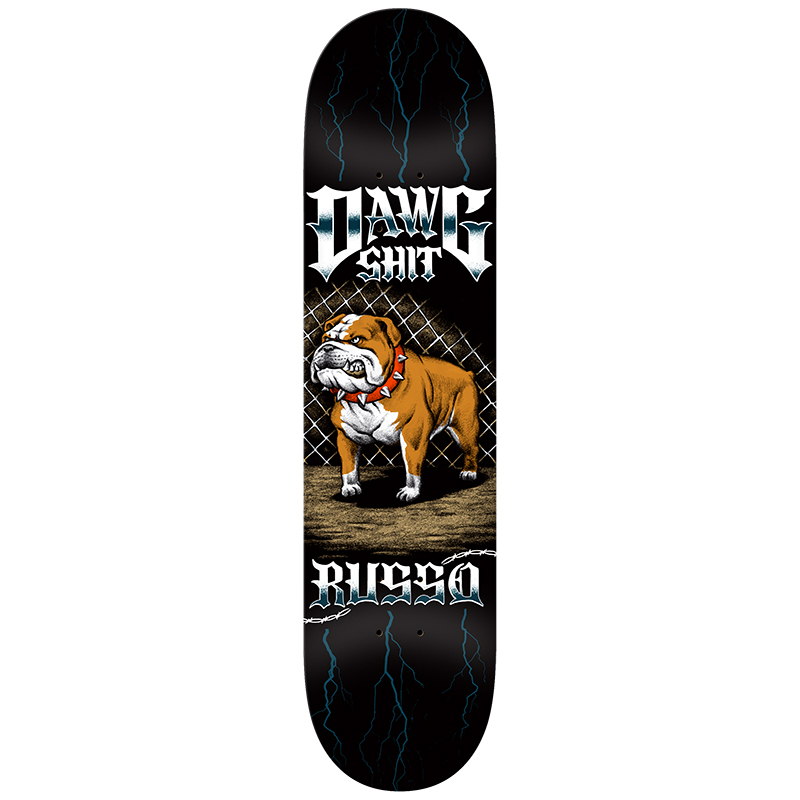 Dawg Shit Russo Skateboard Deck 8.38
