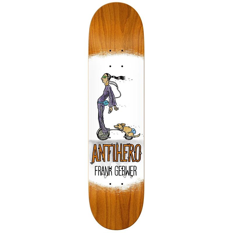 Anti Hero Gerwer Electric Luxuries Skateboard Deck 8.25