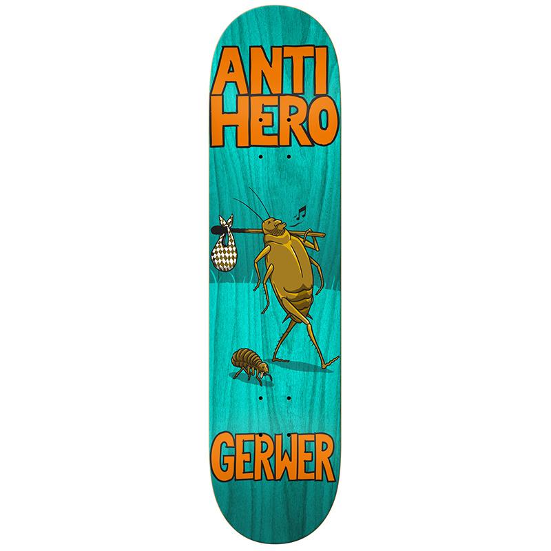 Anti Hero Gerwer Roaches Skateboard Deck 8.12