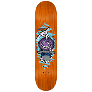 Grimple Stix Gerwer Skateboard Deck Assorted Colours 8.25