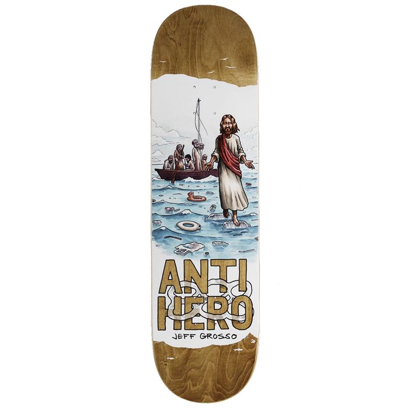Anti Hero Grosso Plastics Skateboard Deck 8.75
