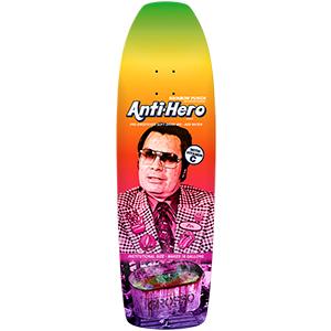 Anti Hero Grosso Pre-Sweetened Rainbow Skateboard Deck 10.1