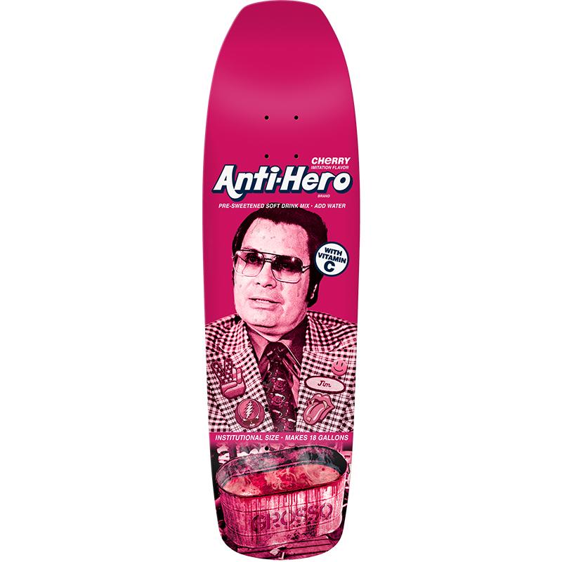 Anti Hero Grosso PreSweetened Skateboard Deck 9.25