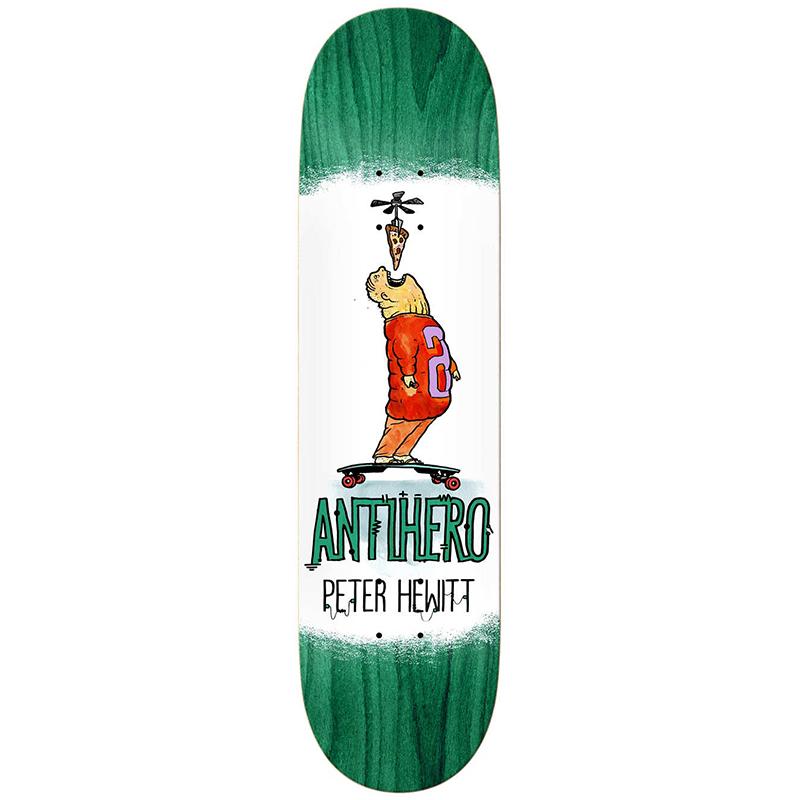 Anti Hero Hewitt Electric Luxuries Skateboard Deck 8.5