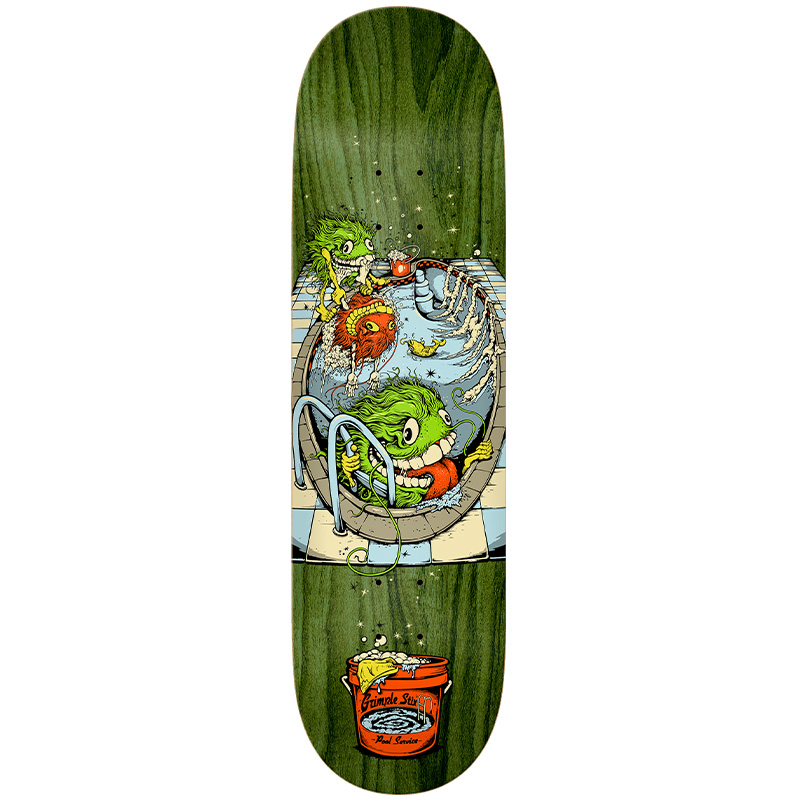 Anti Hero Hewitt Grimples At Work Skateboard Deck Muli 8.5