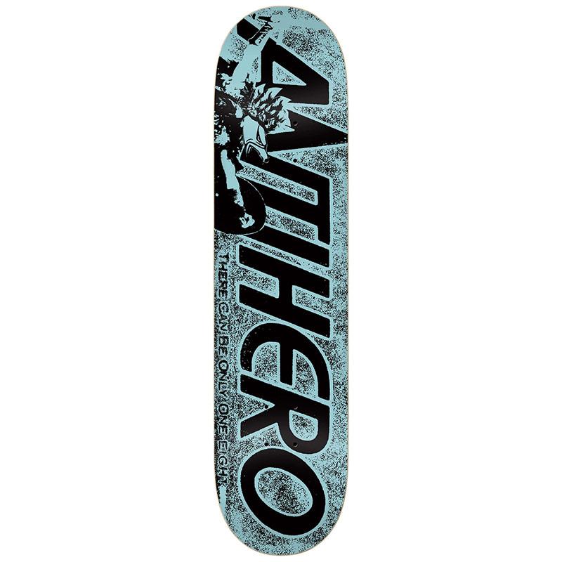 Anti Hero Highlander Hero PP Skateboard Deck Blue 8.25