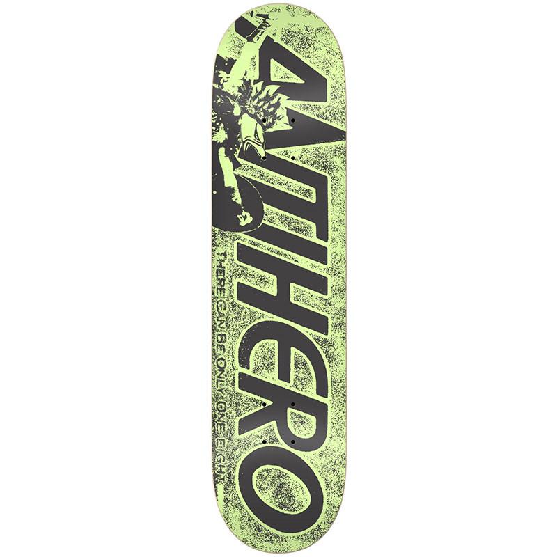 Anti Hero Highlander Hero PP Skateboard Deck Green 8.06
