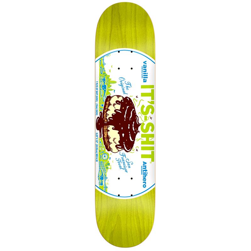Anti Hero It's Shit Vanilla Skateboard Deck 8.25