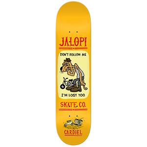 Jalopi Cardiel Skateboard Deck 8.4