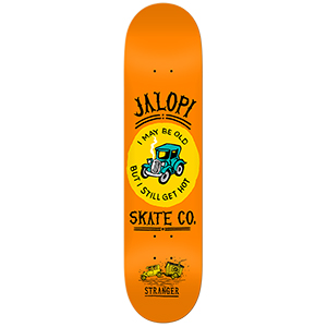 Jalopi Stranger Skateboard Deck 8.25