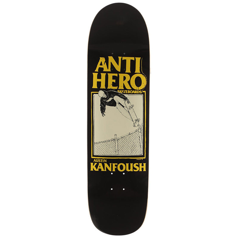 Anti Hero Kanfoush X Lance Mountain Skateboard Deck 8.55