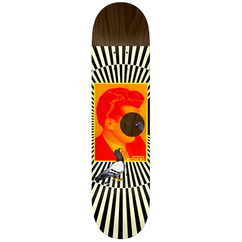 Anti Hero Miorana Boutique Skateboard Deck 8.18