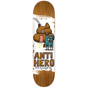Anti Hero Pfanner It's All Shit Skateboard Deck 8.25