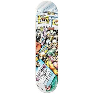 Anti Hero Pfanner Mall Grab Skateboard Deck 8.38
