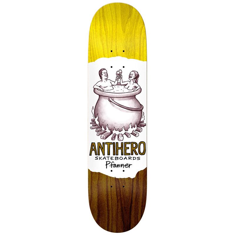 Anti Hero Pfanner Oblivion Skateboard Deck 8.12