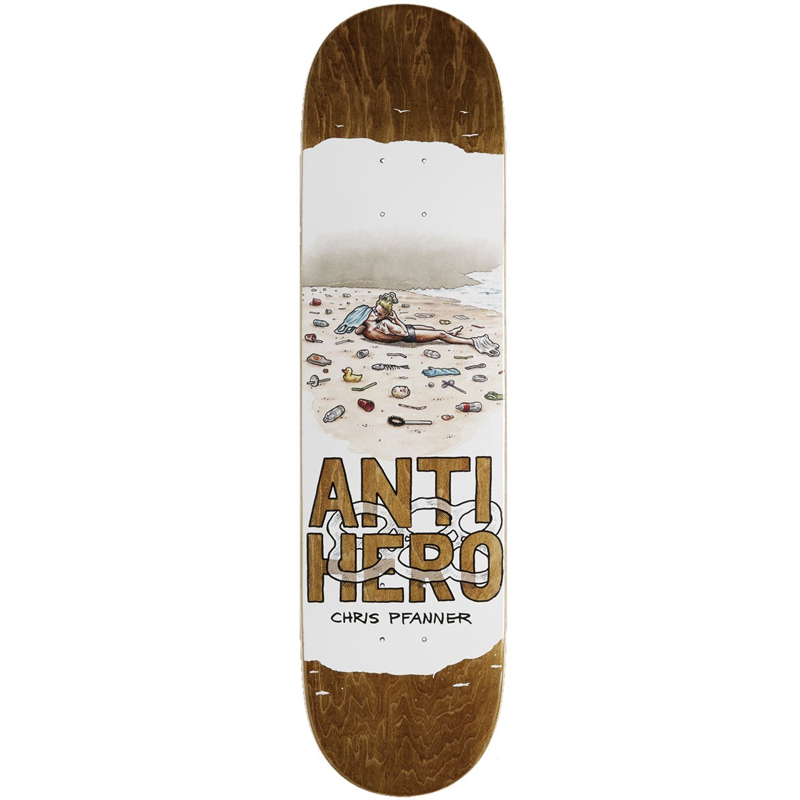 Anti Hero Pfanner Plastics Skateboard Deck 8.06