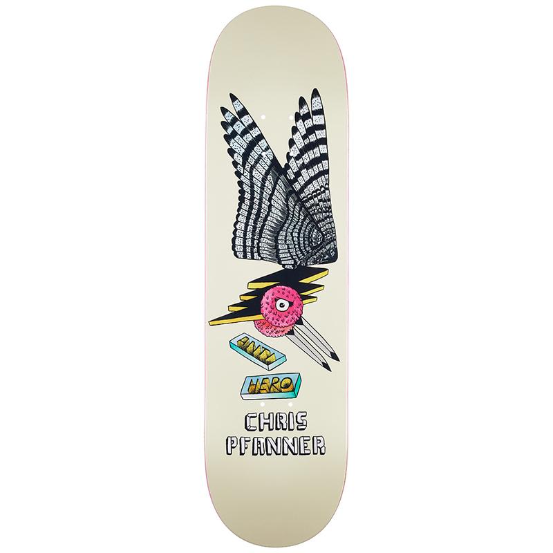 Anti Hero Pfanner We Fly Skateboard Deck 8.25