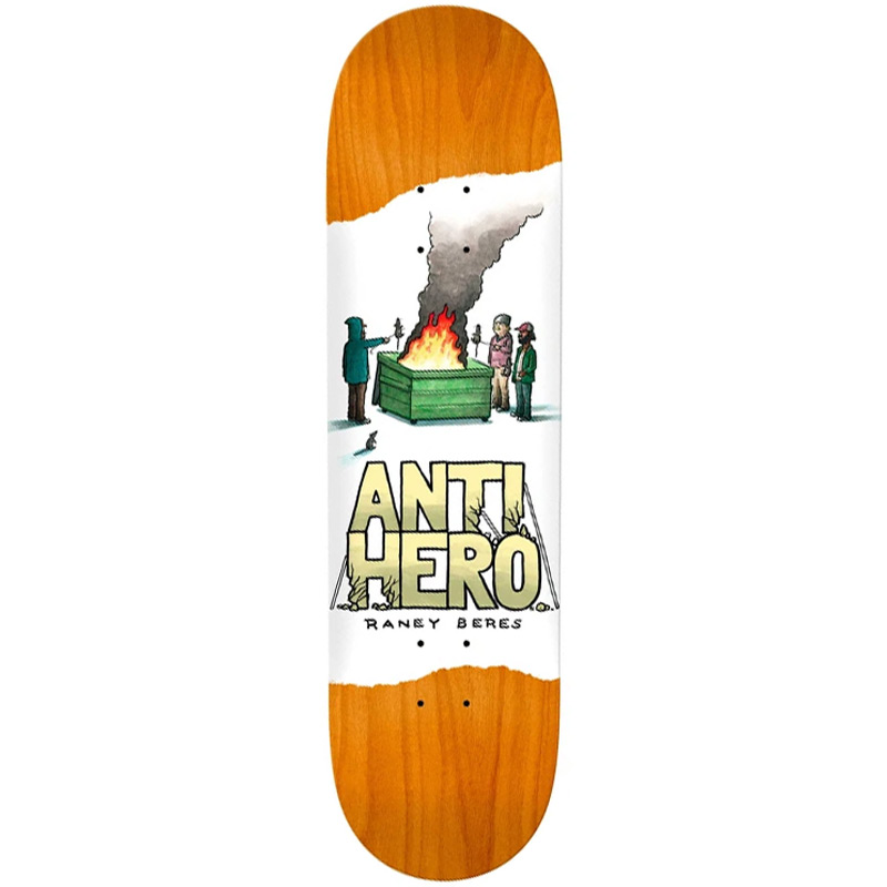 Anti Hero Raney Beres Expressions Skateboard Deck 8.25