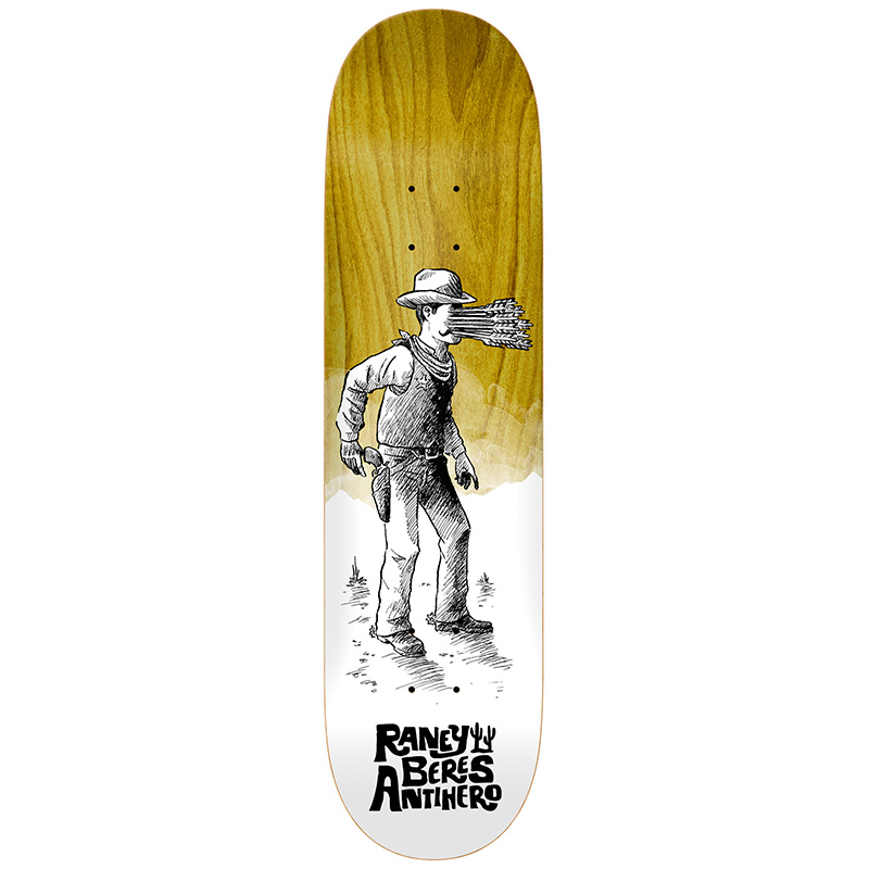 Anti Hero Raney How The West... Skateboard Deck 8.25