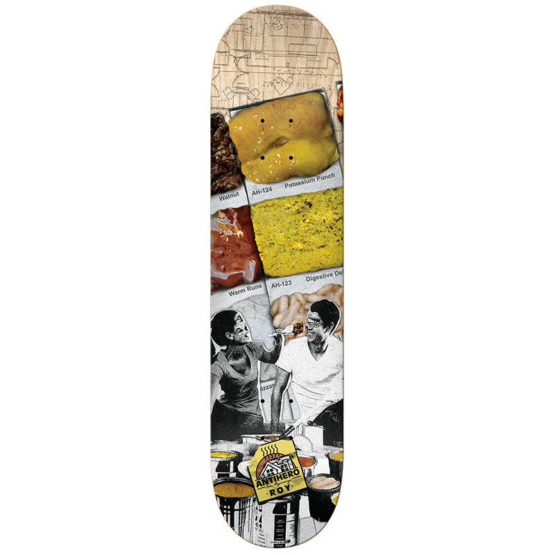 Anti Hero Roy New Beginnings Skateboard Deck 8.12