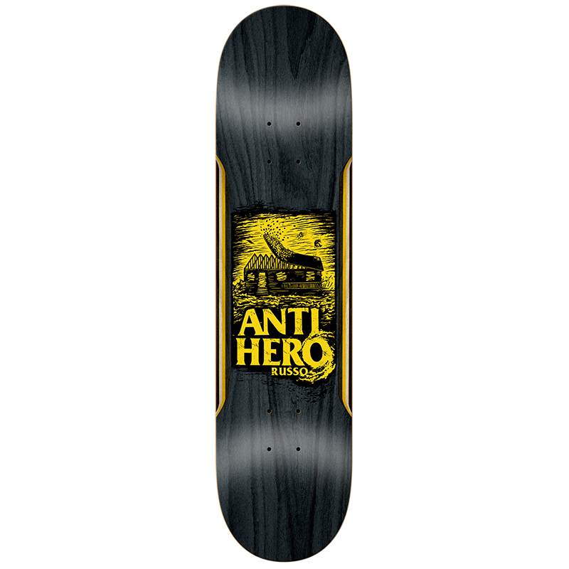 Anti Hero Russo Hurricane Skateboard Deck 8.25