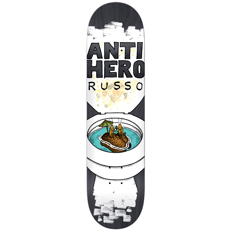 Anti Hero Russo It's All Shit Skateboard Deck 8.38