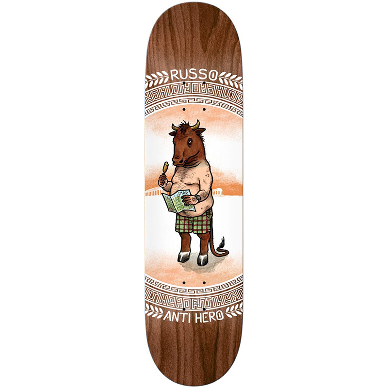 Anti Hero Russo Legends Skateboard Deck 8.62
