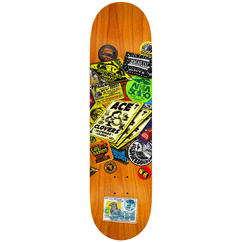 Anti Hero Russo Park Board Skateboard Deck 8.28