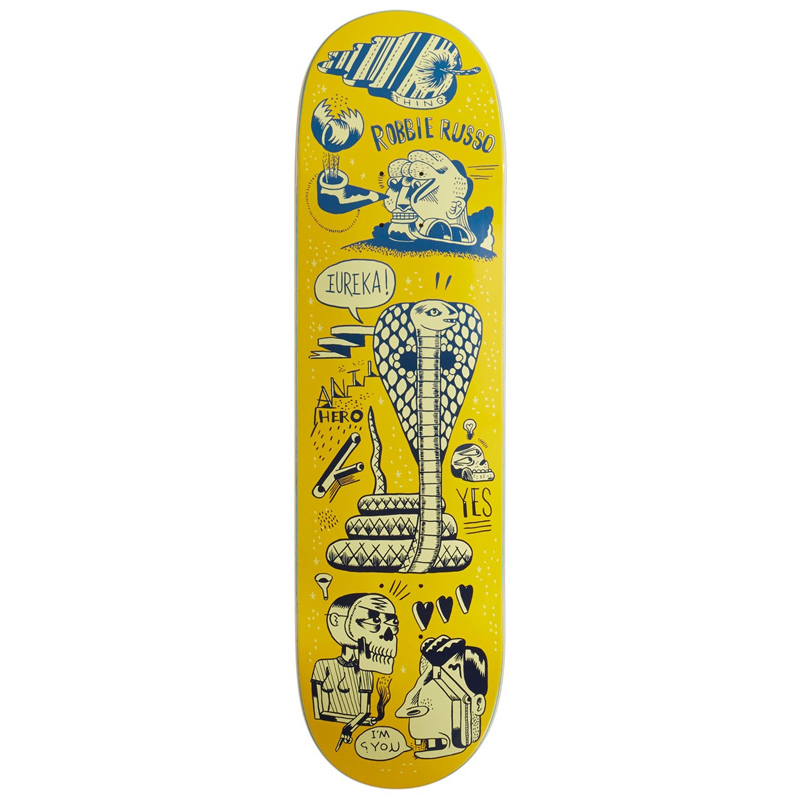 Anti Hero Russo Reach For The Stars Skateboard Deck 8.62
