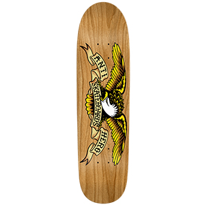 Anti Hero Shaped Eagle Au Natural Skateboard Deck 8.35