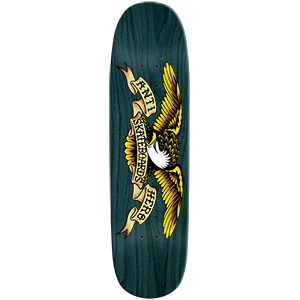 Anti Hero Shaped Eagle Blue Meanie Skateboard Deck 8.75