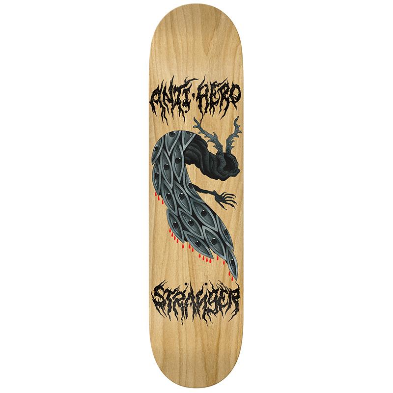 Anti Hero Stranger Jef Whitehead Skateboard Deck 7.75