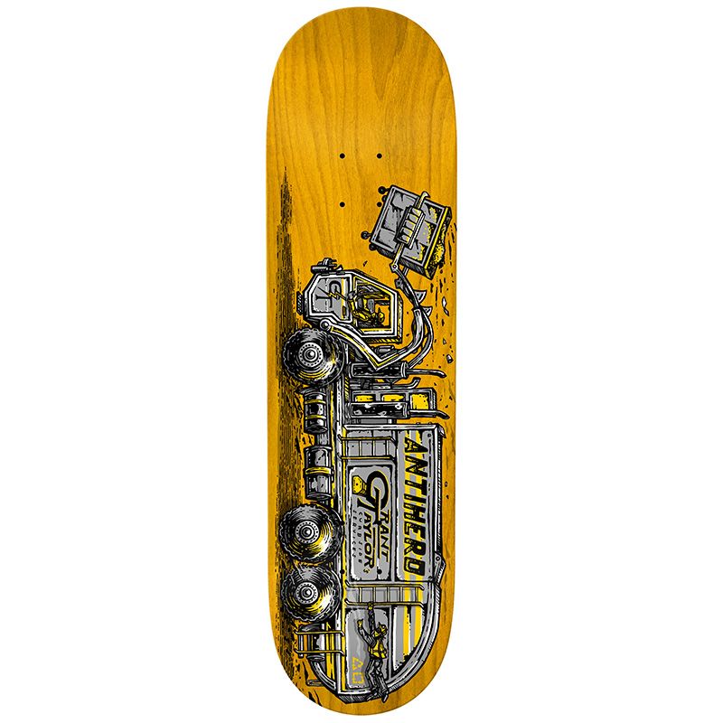 Anti Hero Taylor Curbside Service Skateboard Deck 8.75