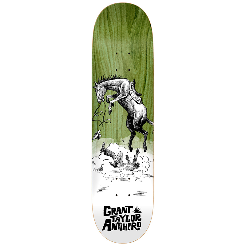 Anti Hero Taylor How The West? Skateboard Deck 8.5
