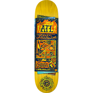 Anti Hero Taylor Maps to the Skaters Homes Skateboard Deck 8.25