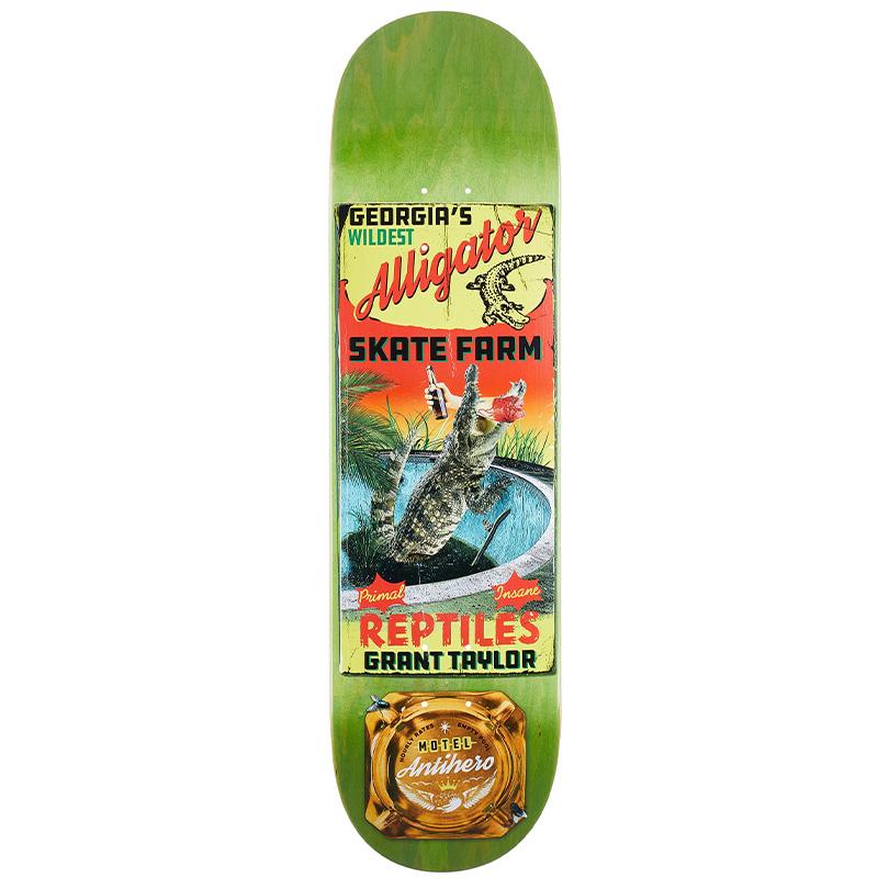 Anti Hero Taylor Motel 18 Skateboard Deck 8.62