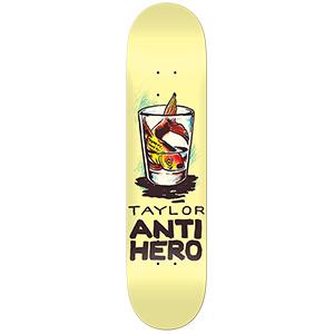 Anti Hero Taylor Overcrowding Skateboard Deck 8.12
