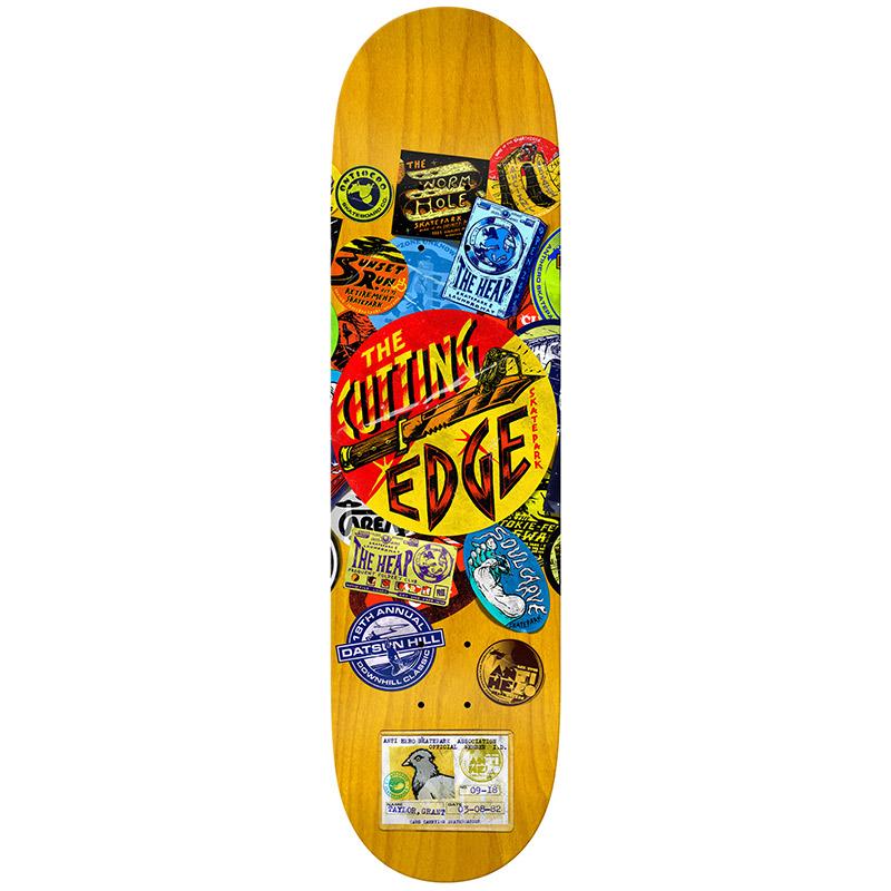 Anti Hero Taylor Park Board Round 2 Skateboard Deck 8.5