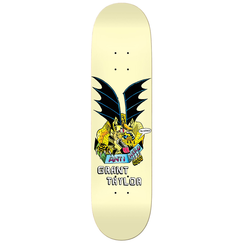 Anti Hero Taylor We Fly Skateboard Deck 8.4