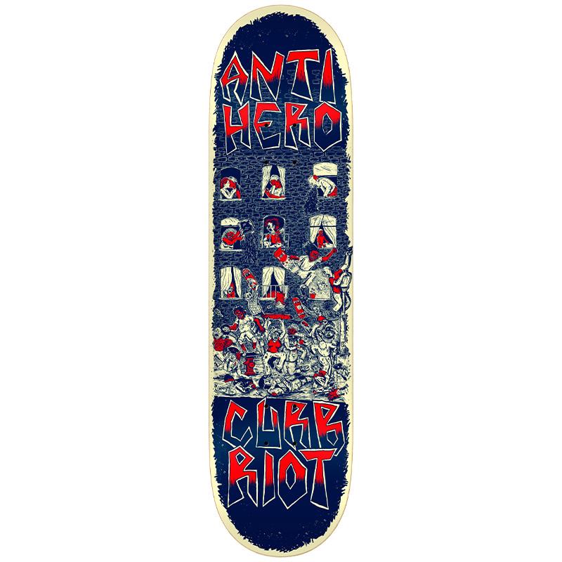 Anti Hero Team Curb Riot Redux Skateboard Deck 8.5